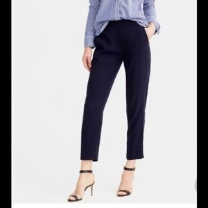 J Crew cropped easy pant